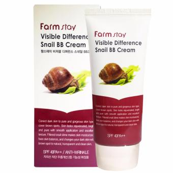 Harga Farm Stay Visible Difference Snail BB Cream SPF 40 PA++