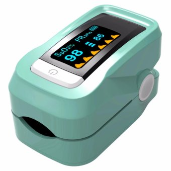 Green portable finger pulse oximeter fingertip pulse oximeter blood oxygen Monitor - intl Price Philippines