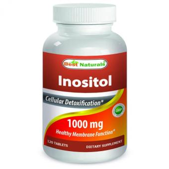 #1 Inositol 1000 mg 120 Tablets by Best Naturals Price Philippines