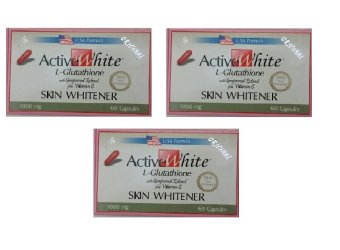 ACTIVE WHITE L-GLUTATHIONE (TRIO PACK) Price Philippines