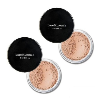 2 x bareMinerals Original Foundation Broad Spectrum SPF15 0.28oz, 8g medium C25 - intl Price Philippines