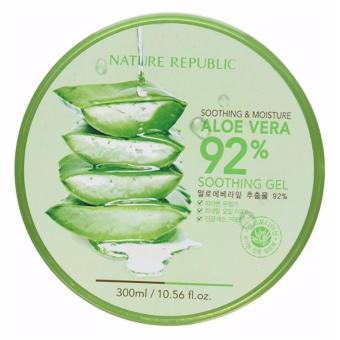 Nature Republic Soothing and Moisturizing Aloe Vera 92% Soothing Gel Price Philippines