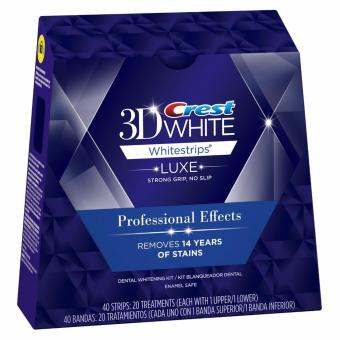 Harga Crest 3D Whitestrips Luxe Professional Effects 40 Strips