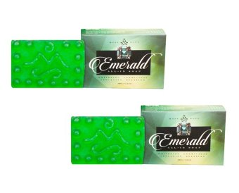 Harga Mont Sapo Emerald All-In Soap 120g Set of 2