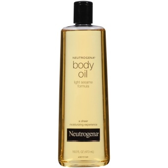 Harga Neutrogena Body Oil Light Sesame Formula 473ML