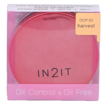 IN2IT Oil Control and Oil Free Face Powder 01 (Harvest) OCP03