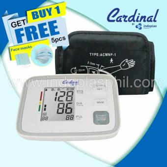Indoplas Cardinal Blood Pressure Monitor - Free Facemask