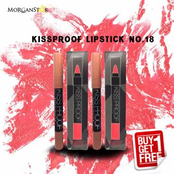 Kissproof Matte Lipstick No. 18 Buy One Take One