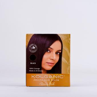 Kolganic Henna Hair Color (Black)