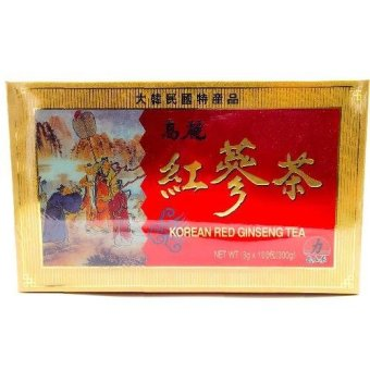 Korean red ginseng tea 100's