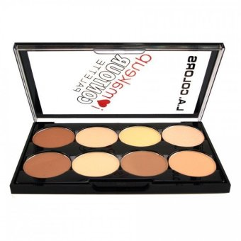 L.A COLORS I ? Makeup Contour Palette - C30352 Light to Medium