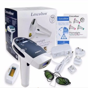 Lescolton Laser IPL Permanent Hair Removal device for Facial BodyArmpit Underarm Leg - intl