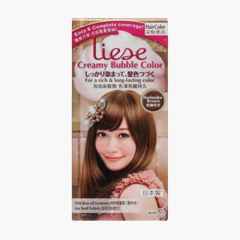 Liese Creamy Bubble Hair Color (Marshmallow Brown)