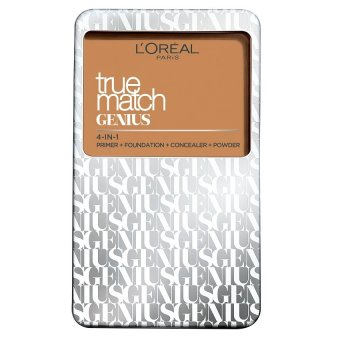 L'Oreal Paris True Match Genius Two Way Cake Compact Foundation 7g (G3 Gold Vanilla)