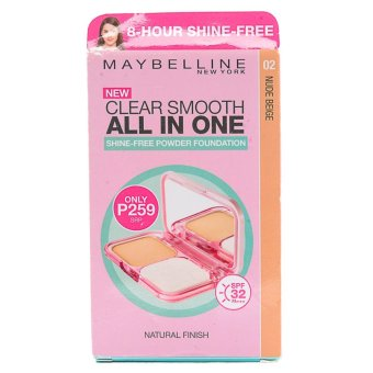 Maybelline Clear Smooth All-in-one Shine-free Foundation Powder (Nude Beige)