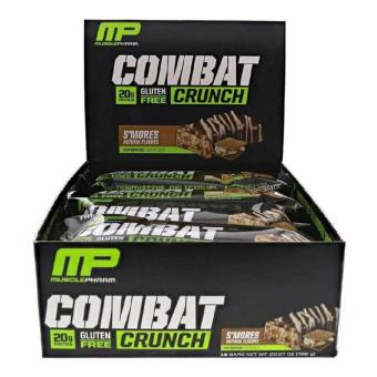 Musclepharm Combat Crunch S'mores 12 bars/ box Price Philippines
