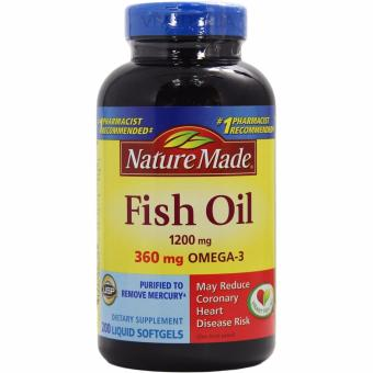 Nature Made Fish Oil 1200 mg, 200 Softgels Price Philippines
