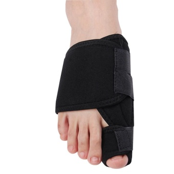 Nighttime Bunion Splints - 2 Double-Stitched Velcro BunionCorrectors - Bunion Relief for Bedtime for Men & WomenProtector Bunion Adjuster Guard Pain Relief Foot Massage - intl
