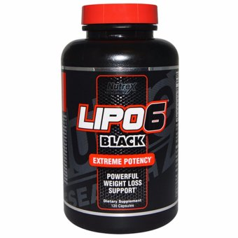 Nutrex LIPO6 Black Extreme Potency Powerful Weight Loss Support 120Capsules Price Philippines