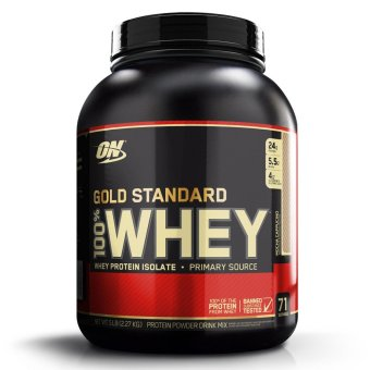 Optimum Nutrition Gold Standard 100% Whey Protein Powder Drink Mix 5lbs (Mocha Cappucino Flavor)