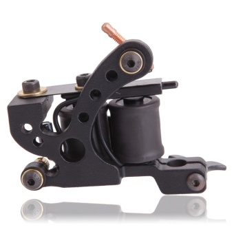 Panther XHJ006A 10-Coil Liner Tattoo Machine Black - intl