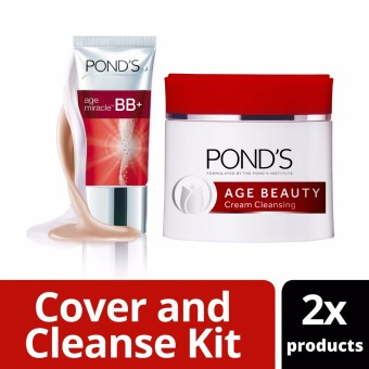 Pond's Age Beauty Cold Cream and Age Miracle Bb Cream At 20% Off