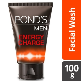 PONDS MEN FACIAL WASH ENERGY CHARGE 100G .