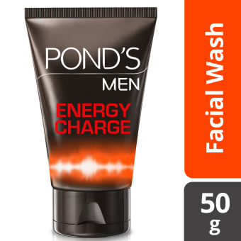 PONDS MEN FACIAL WASH ENERGY CHARGE 50G