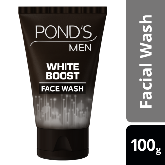 PONDS MEN FACIAL WASH WHITE BOOST 100G