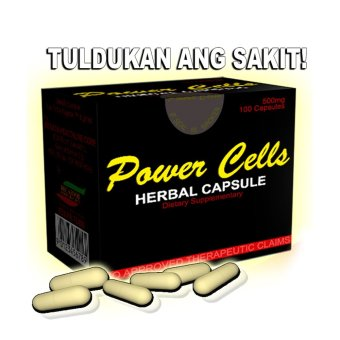 Power Cells Herbal Capsule Box of 100's