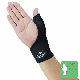 PROCARE PROTECT #3106 Thumb Support with Pliable Metal Splint SIZE(LARGE)