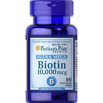 Puritan's Pride Biotin 10,000 mcg-100 Softgels Price Philippines