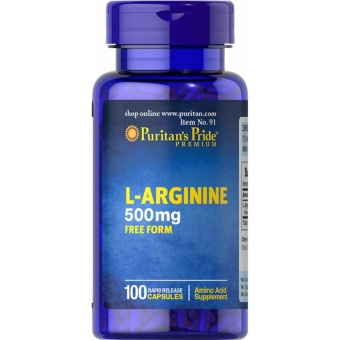 Puritan's Pride L-Arginine 500mg 100 capsule Price Philippines