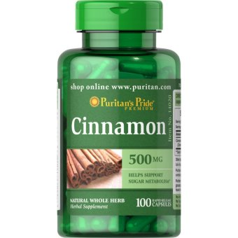 Puritan's Pride Cinnamon 500 mg, 100 Capsules Price Philippines
