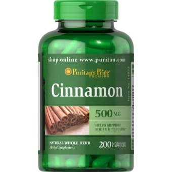 Puritan's Pride Cinnamon 500 mg, 200 Capsules Price Philippines