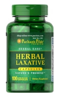 Puritan's Pride Herbal Laxative 100 Capsules Price Philippines