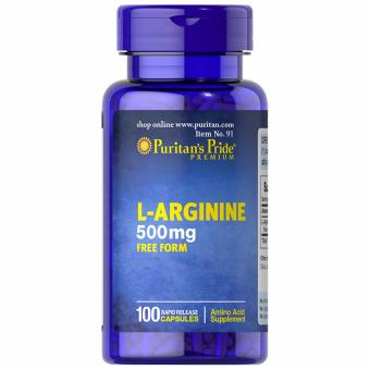 Puritan's Pride L-Arginine 500mg 100 capsules Price Philippines