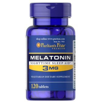 Puritan's Pride Melatonin 3mg, 120 Tablets Price Philippines
