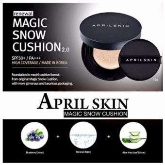QF APRIL SKIN MAGIC SNOW CUSHION - MADE IN KOREA Price Philippines