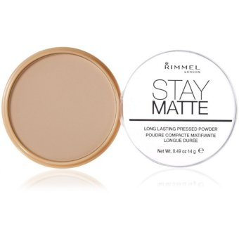 Rimmel London Stay Matte Pressed Powder 14g (011 Creamy Natural) Price Philippines