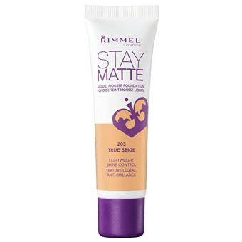 Rimmel Stay Matte Liquid Mousse Foundation 30ml (True Beige) Price Philippines