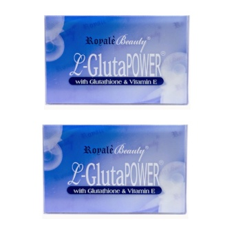 Royale L-Glutapower Glutathione Soap 130g Set of 2