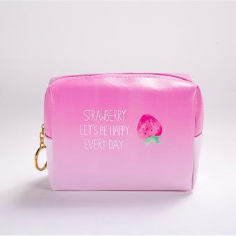 Strawberry Makeup Pouch (1pc Strawberry) Price Philippines