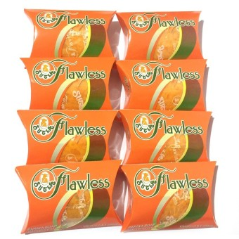 Sutla Flawless Papaya Set of 8
