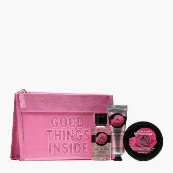 The Body Shop British Rose Beauty Bag Price Philippines