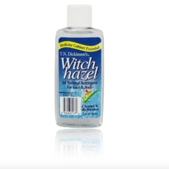 T.N. Dickinsons Witch Hazel 100 % Natural Astringent 59ml 20z withFREE Rubber Bracelet LED Digital Wrist Watch (Color may vary)