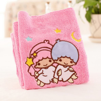 Twin Star cute rub hair headscarf dry hair cap