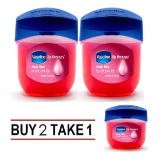 Vaseline Lip Therapy Rosy Lips Mini 7g Buy 2 Take 1