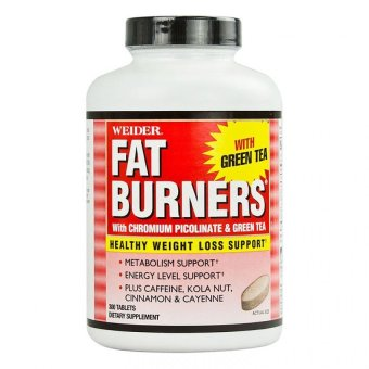 Weider Fat Burner with Chromium Picolinate and Green Tea Tablet500mg, Bottle of 300 Price Philippines