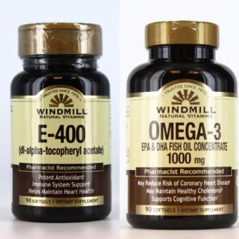 Windmill Vitamin E-400 IU and Windmill Omega 3 1000 mg Price Philippines